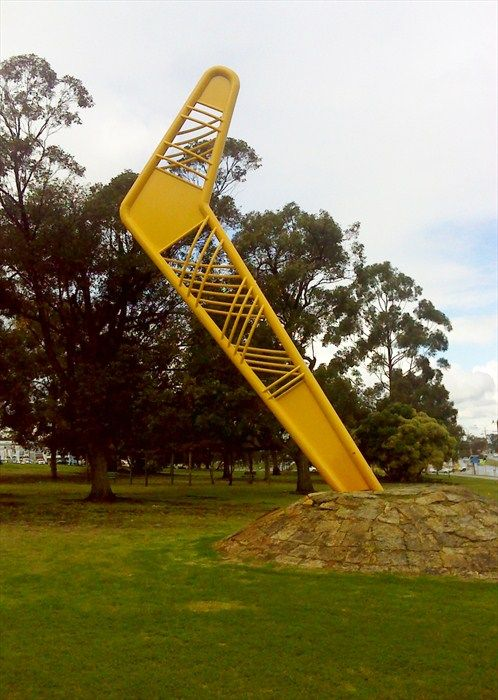 The big boomerang ,Wangara, Western Australia