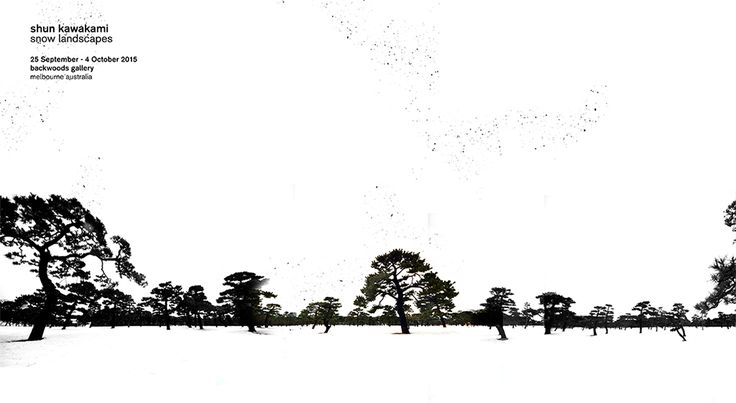 [solo exhibition] shun kawakami:  snow landscapes (25.Sep. - 4.Oct. 2015)  at Backwoods Gallery, Melbourne. - Shun Kawakami's Snow landscapes exhibition at Backwoods gallery features a series of digital works on paper through which this talented and versatile Japanese artist and designer masterfully plays with light and shadows.  https://www.facebook.com/events/165420137128697/