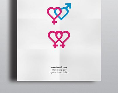 homophobia | poster • Poster for the 17th of May, international day against homophobia. • http://on.be.net/W0yVPv