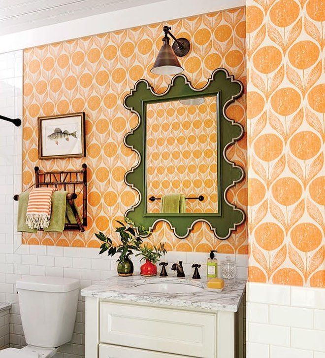 The  Southern Living Idea House Is Full Of Fun And Colorful Bathroom Decorating Ideas Its About To Make All Your Exciting Bathroom Decor