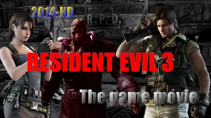 Resident Evil 3: Last Escape - The game movie (Full Movie) 2014 HD