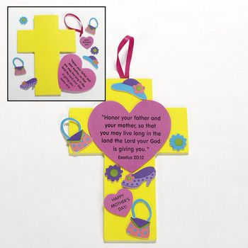 gifts crafts ideas christian s day cross craft christian craft 2081
