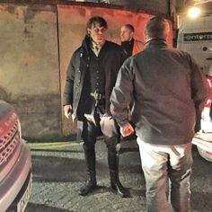 Behind the Scenes Photos of 'Outlander' Filming in Edinburgh, Scotland (Day Four)   Outlander TV News