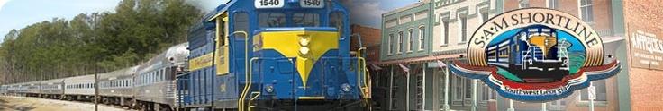 Order SAM Shortline Tickets   SAM Shortline Excursion Train