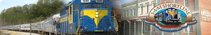 Order SAM Shortline Tickets | SAM Shortline Excursion Train