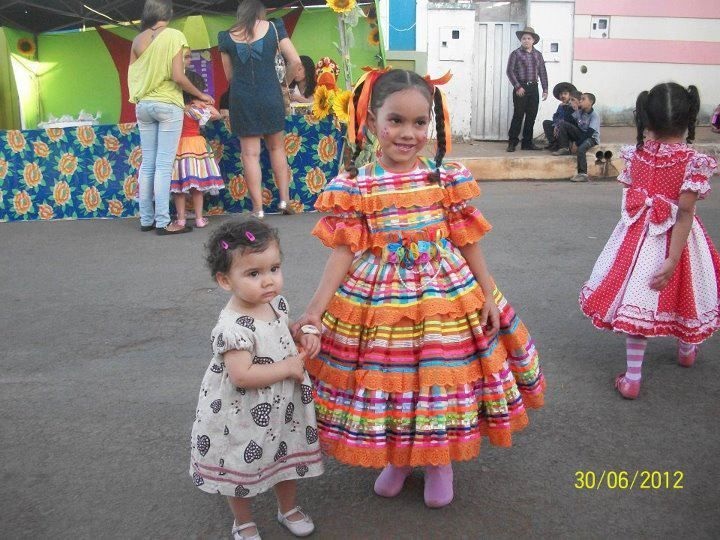 vestido festa junina infantil luxo - Pesquisa Google