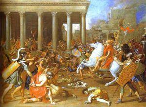 Nicolas Poussin - La destruction du Temple de Jérusalem