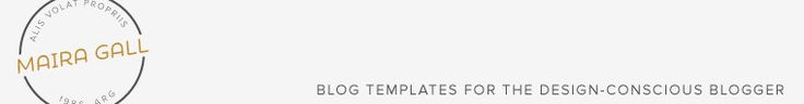 View Blogger templates. by MairaGall on Etsy