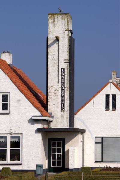 Watertoren Noordschans (Landbouwhuis)