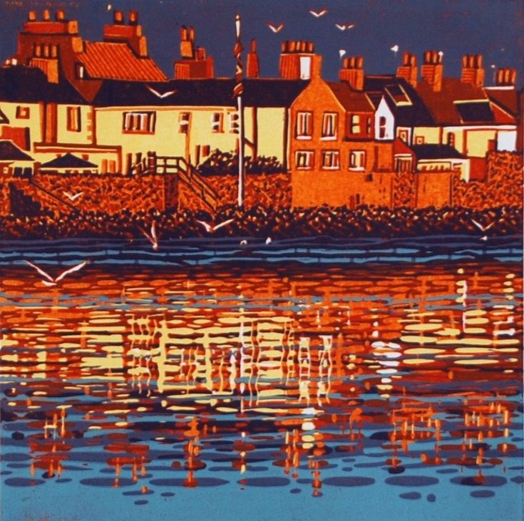 Mark A Pearce Lake District artist - paintings for sale - wood and linocuts