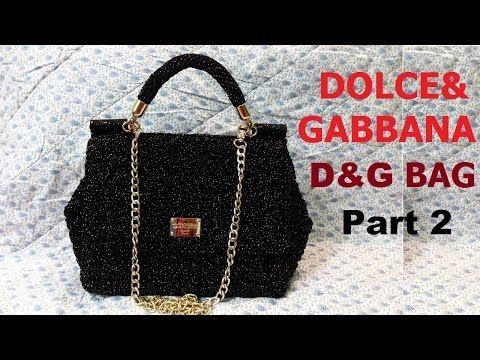 How to crochet CHANEL Mini Bag Part 1 - Hướng dẫn móc túi Chanel mini P1 - YouTube