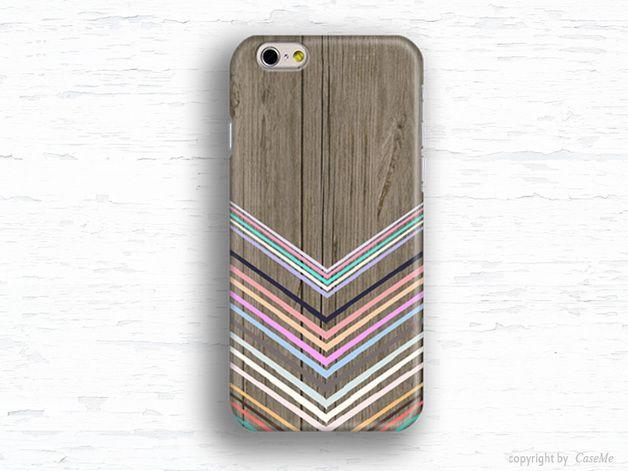 Fundas para móviles - Carcasa iPhone 6 Chevron geométrico iPhone Galaxy - hecho…