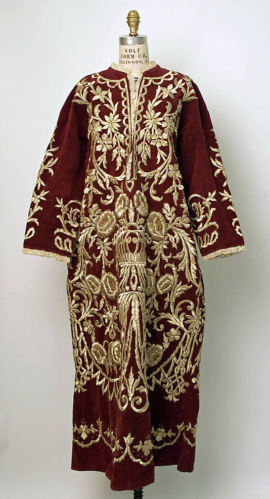 Wedding robe Date: 19th–20th century Culture: Turkish