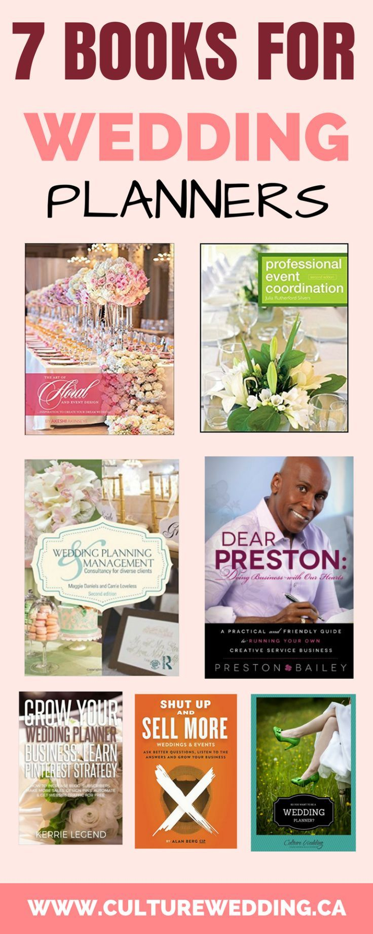 A List Of The Best Wedding Planner Book Looking To Grow Your Event Planning Business