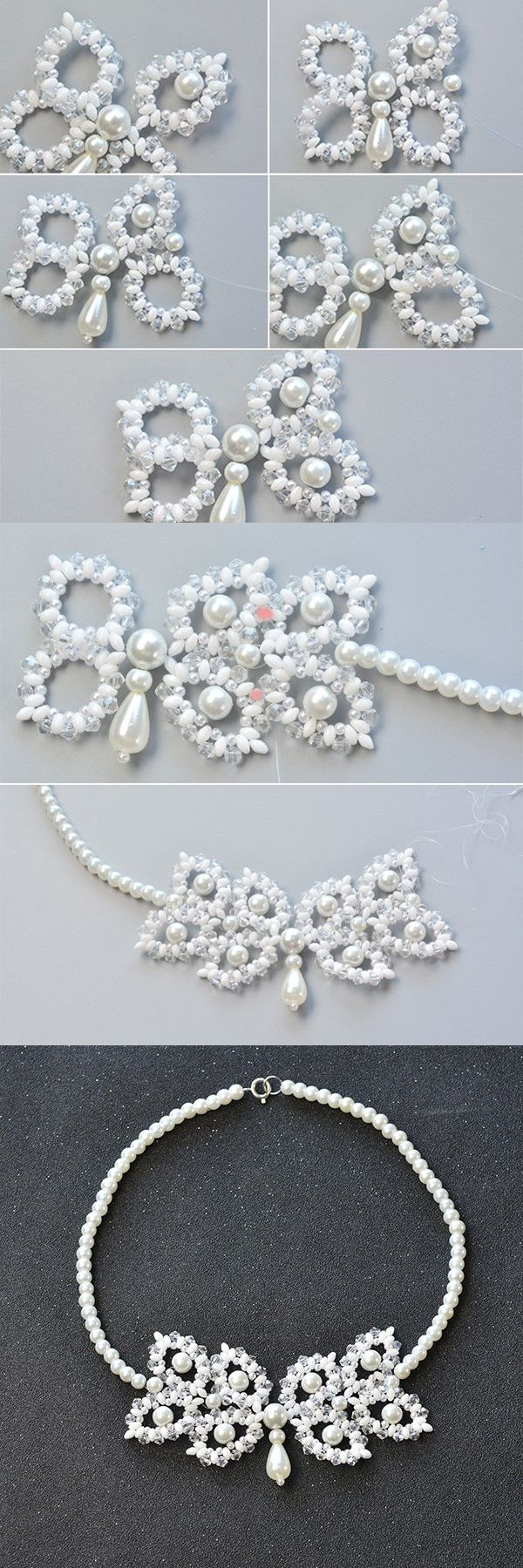 Like the 2-hole seed beads necklace?The details will be published by LC.Pandahall.com