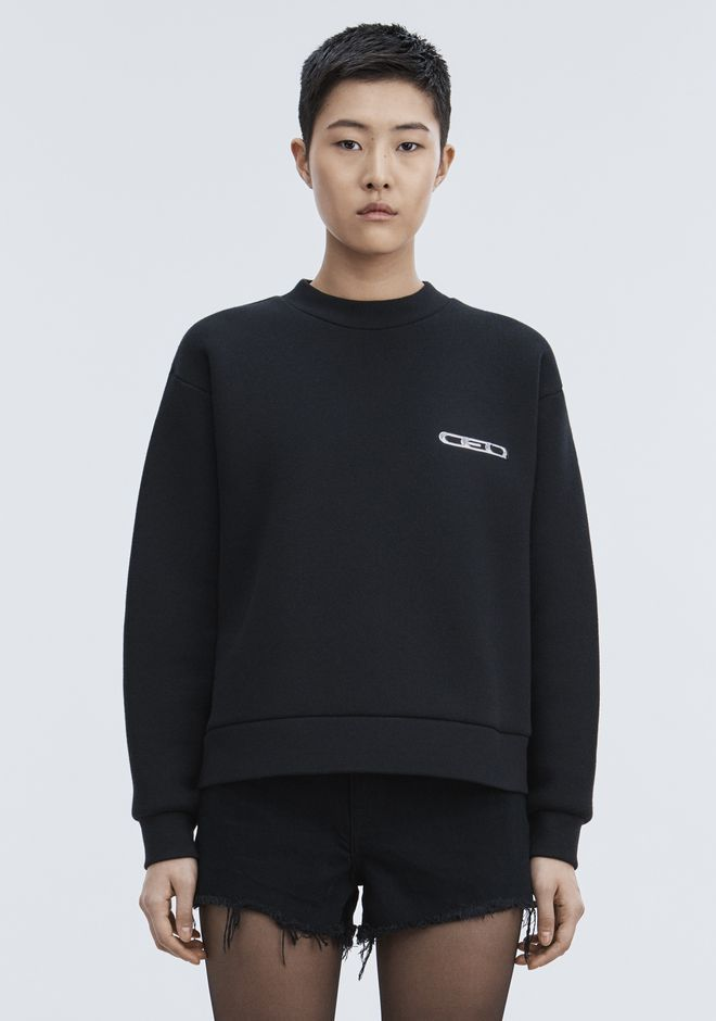 ALEXANDER WANG CEO PULLOVER TOP Adult 12_n_a