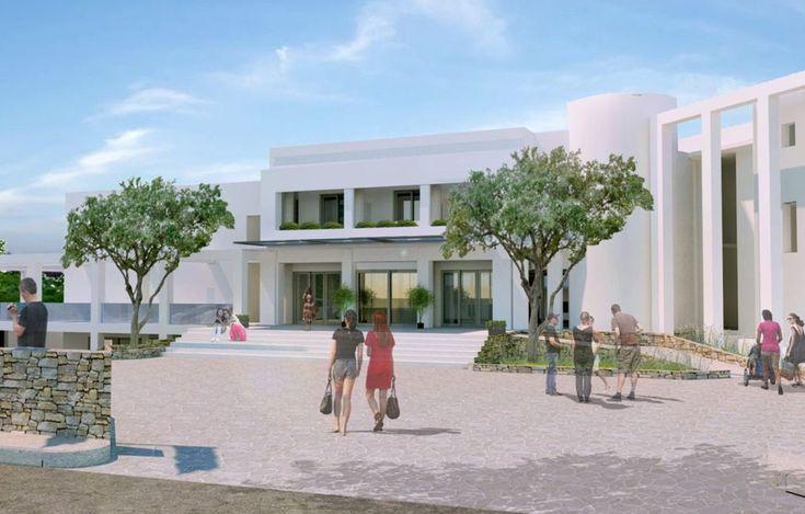 Bomo Club Rethymno Beach, θα ονομάζεται το νέο ξενοδοχείο του ομίλου Μουζενίδη στην Κρήτη και ειδικότερα στην περιοχή Εσταυρωμένος, του Ρεθύμνου.