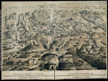 Sevastopol 1855 Guerra De Crimea