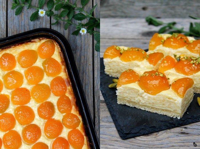 Aprikosen-Milchreis-Kuchen