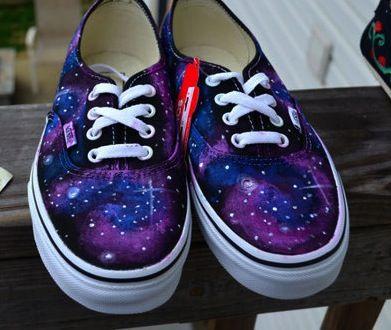 Galaxy Vans for Girls | Nada mejor que una galaxia en tus Vans