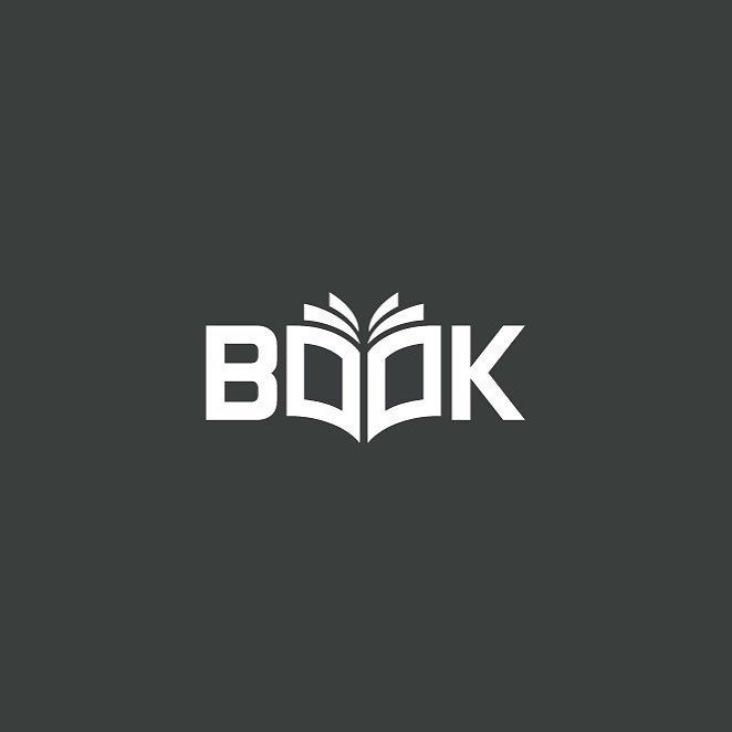 Book by Alfrey Davilla @vaneltia_design  http://ift.tt/1rVPfBj by logoinspirations                                                                                                                                                     Más