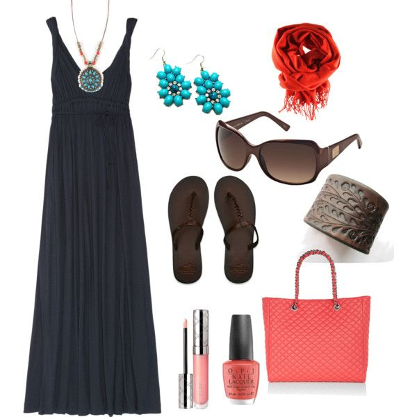 I need coral accessories, created by jimmie-lee-diianni on Polyvore, wearing to church tomorrow