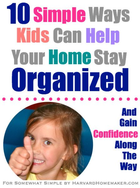10 Easy Ways To Fix Your Door In Under An Hour: 10 Simple Ways Kids Can Help Your Home Stay Organized