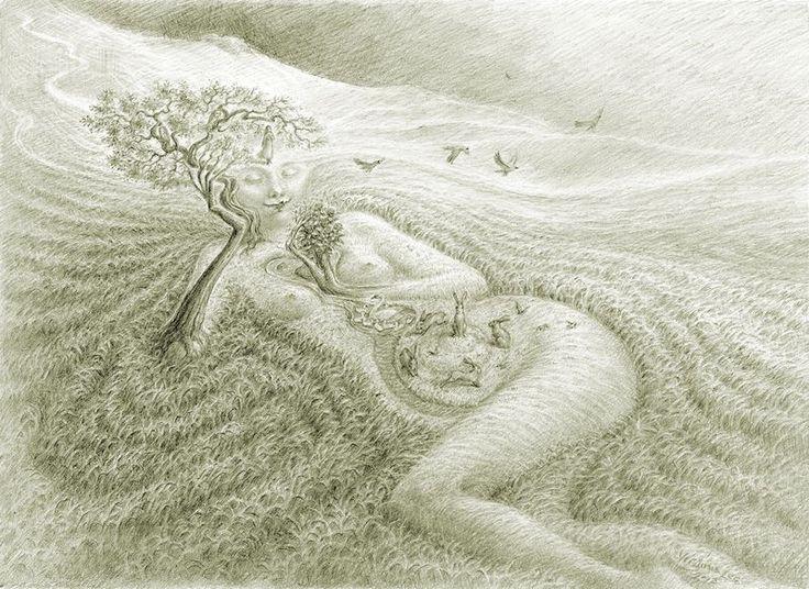 ''Moor Maiden'' by Virginia Lee: