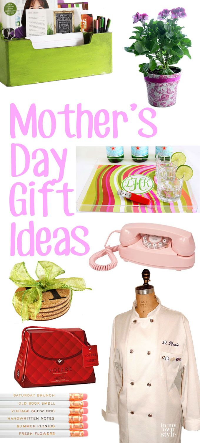10+ Easy and Stylish Mother's Day gift ideas that you can buy or make.