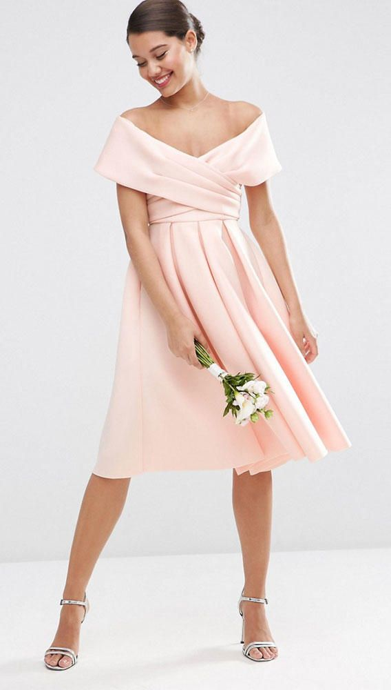 Blush Bridesmaid Dresses to Shop Now | TheKnot.com