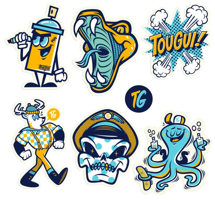 Le sticker pack 1 on behance