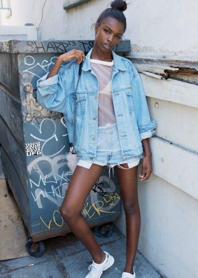 What to Do With Your Denim Now, by Leomie Anderson