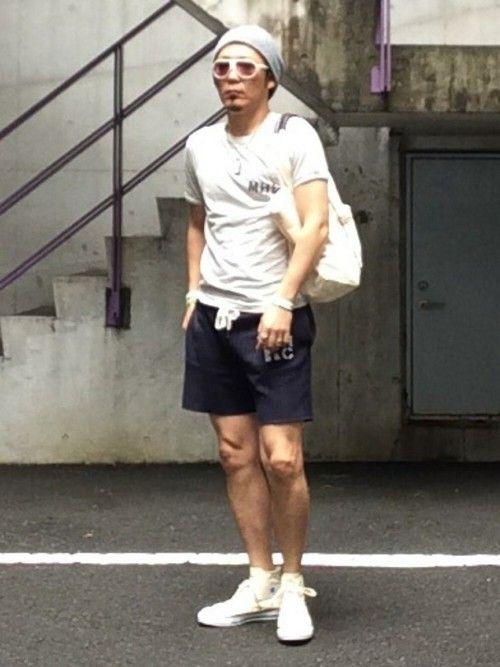 HIRO|URBAN RESEARCHのTシャツ/カットソーを使ったコーディネートWEAR