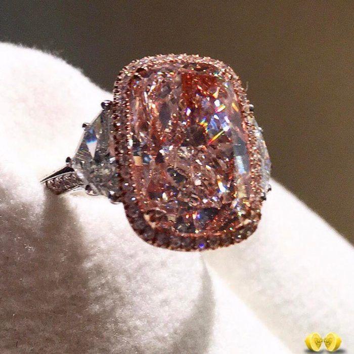 Stunning Pink Diamond Ring @novelcollection
