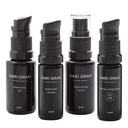 The Mini Kit Includes: Cleansing Oil, 15 ml Lavender or Rose Hydrating Tonic, 15 ml Essential Serum, 10 ml Three Sixty Five SPF 28, 10 ml Three Sixty Five: A physical, broad-spectrum, facial sunscreen designed to be used 365 days of the year — rain or shine. Broad-spectrum sunscreens protect against both UVA, rays that age the skin, and UVB, rays that burn skin. Both types of UV radiation have been linked to cancer. Not all sunscreens protect the skin from UVA rays so, if you want to ensure…