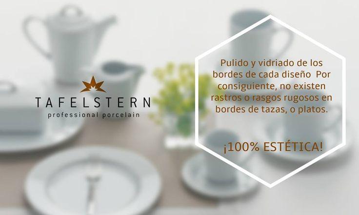 ¿Cuáles son las ventajas que te ofrece Tafelstern en sus productos?  #EquipaTuRestaurante Detalles en www.latinhotel.com