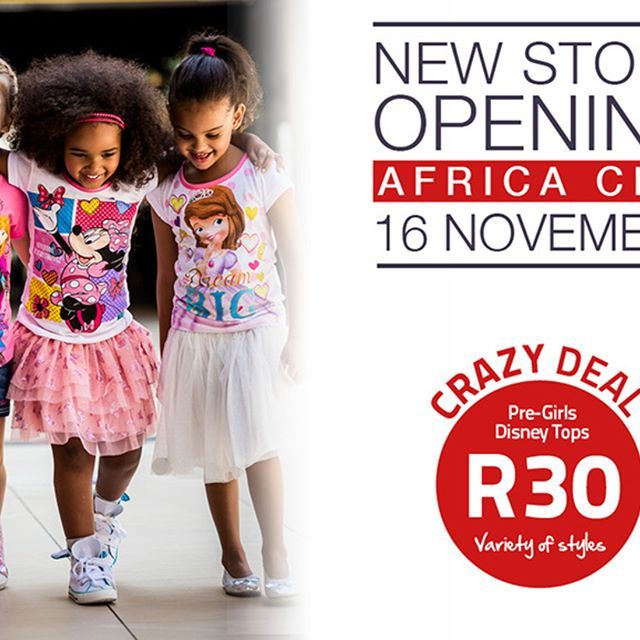 Who knows where we'll be setting up shop next?? 😳 🤔 That's right – Africa City! 😮🙌🎉 We can't wait to see you all and have a JAMmin' opening day next Thurs, 16 Nov, with one of our famous ONE-DAY-ONLY sales! 👏💖 🎈 #JAMclothingsa #AfricaCity #StoreOpening