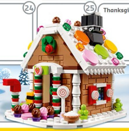 LEGO Gingerbread House 40139