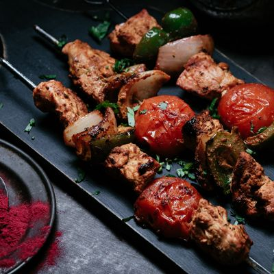 Chicken Shashlik  #curry #india #indianfood #indiancuisine #cuisine #food #recipe #foodinspiration #travelfood #authenticindia