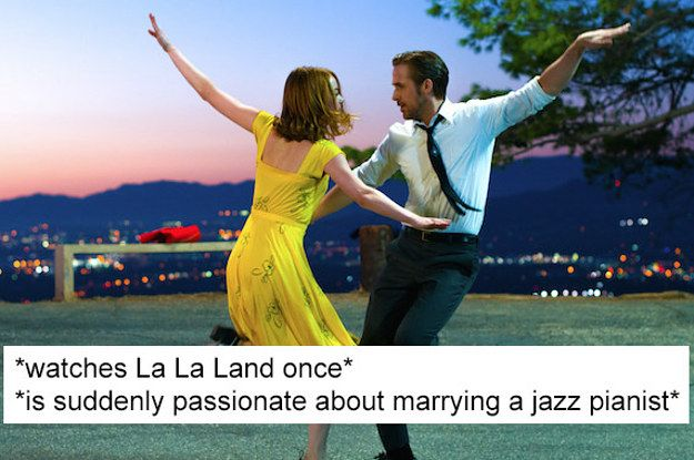 "19 Hilarious Tweets You'll Totally Understand If You've Seen ""La La Land"" Ahora, 20 minutos después de haberla terminado, creo que si me shockeó bastante."
