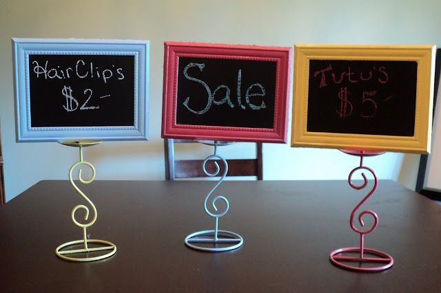 boutique sign ideas | diy chalkboard signs dollar store here I come! | Dollar Store Ideas