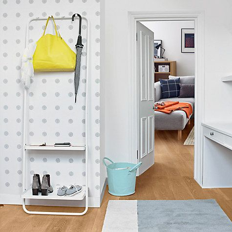 Buy house by john lewis white tube coat stand online at johnlewis com coat