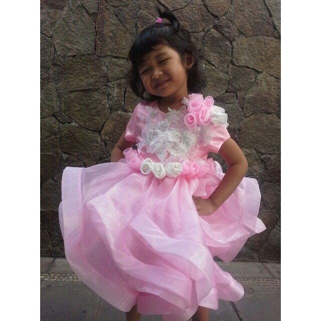 Gown for kid by nely afifi