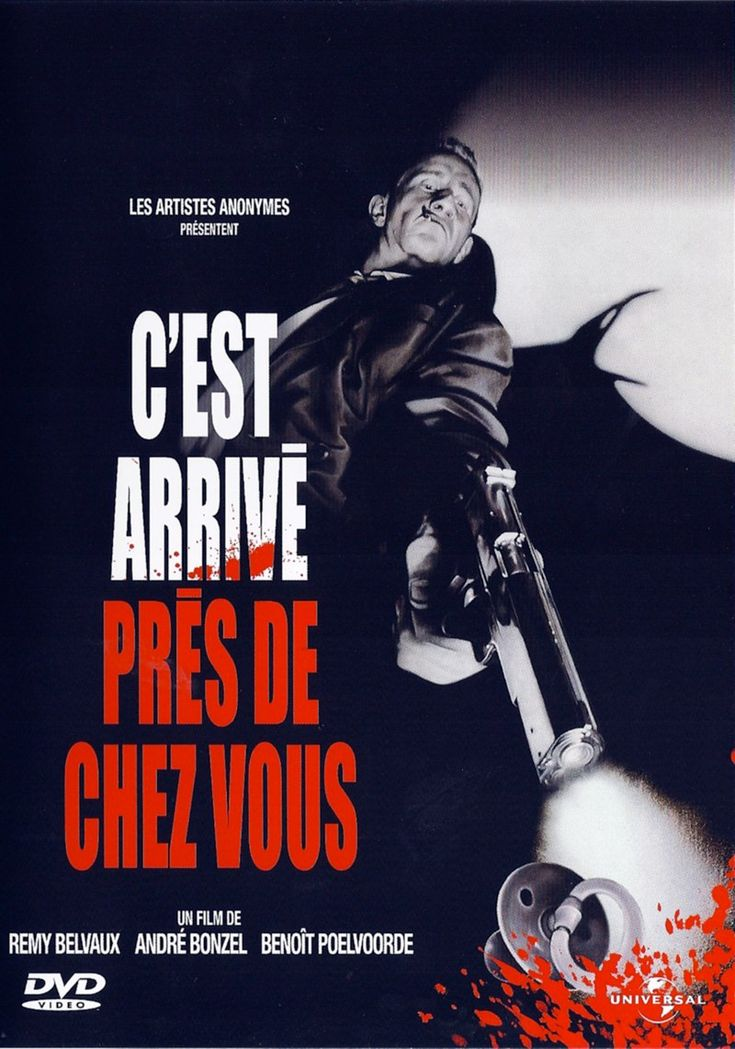 """""""C'est arrive pres de chez vous"""" avec Benoît Poelvoorde Parmi mon top 50 en termes de films français"""