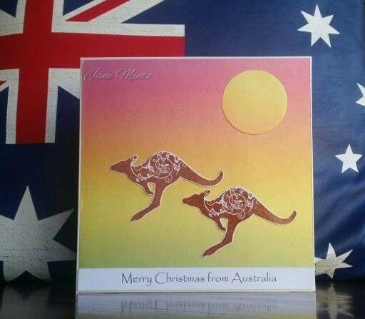 Kangaroo - Australian Christmas