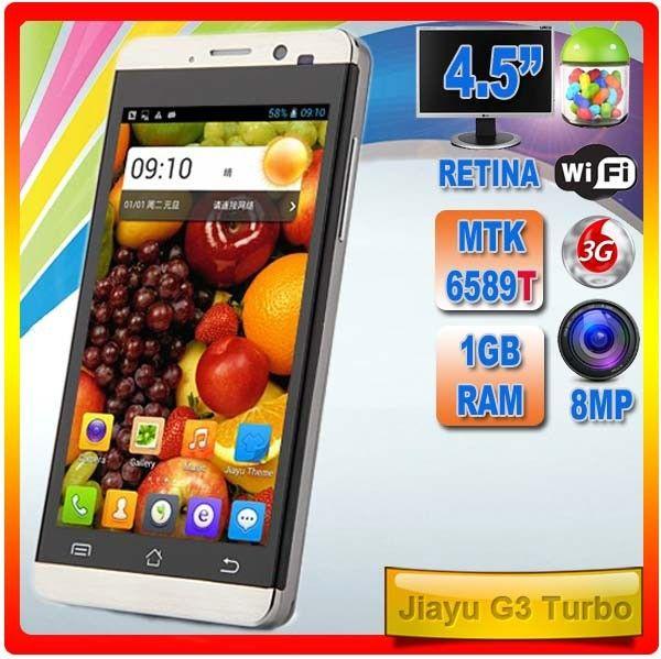 Jiayu G3S Turbo  Evolución del G3S
