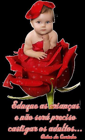 imagines de flores para mi bebe | Recados para facebook ...