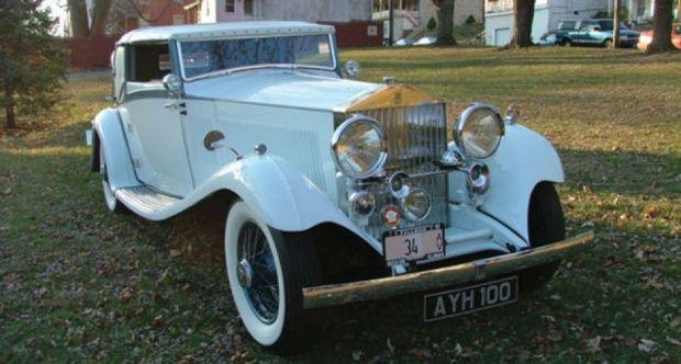 Rolls-Royce Phantom II Continental Drophead Sedanca Coupe 1934