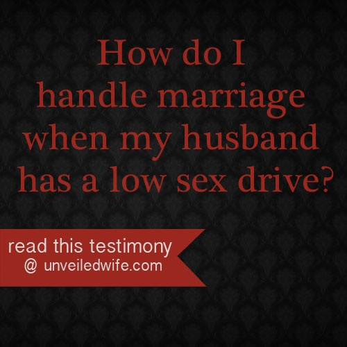 My wife has low sex drive