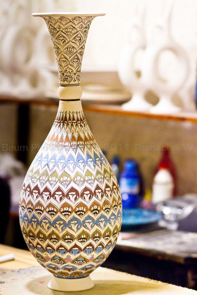 Turkish Pottery (Turkish Handicrafts) / Capadocia,Nevsehir, Turkey